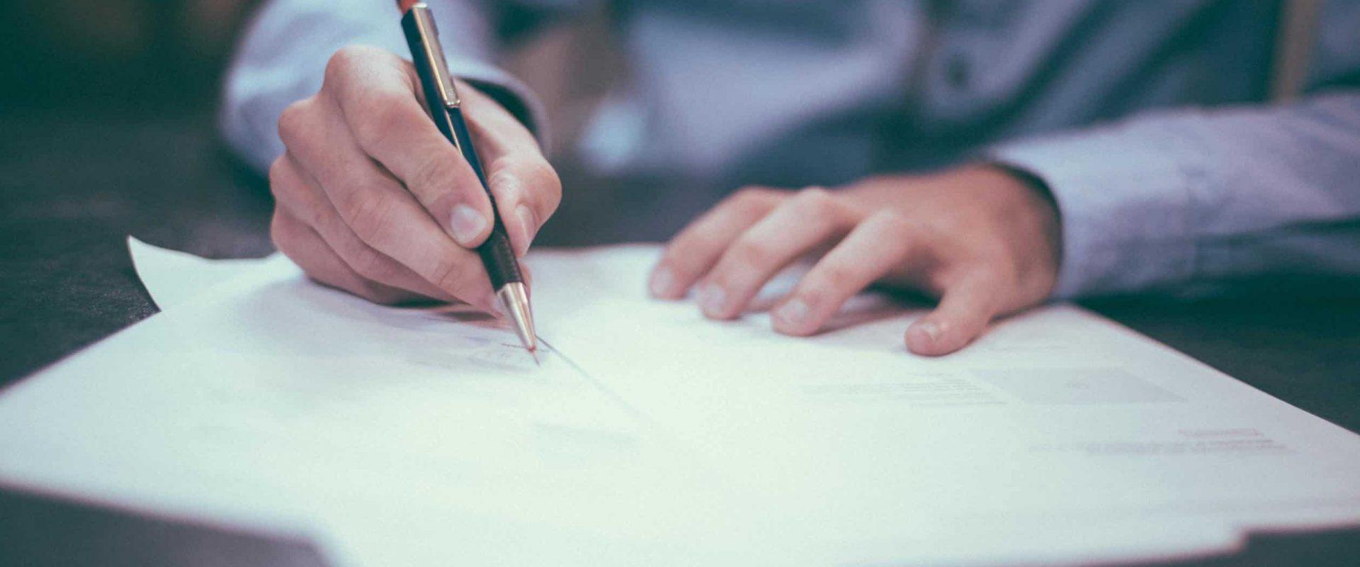 skriv karriär